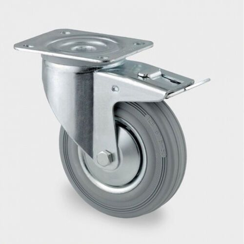 Koła przemysłowe z maksymalnym obciążeniem 70-205 kg, szara guma (4031582305043)
