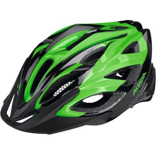 Alpina Seheos Kask rowerowy zielony/czarny 58-63cm 2018 Kaski rowerowe (4003692239723)