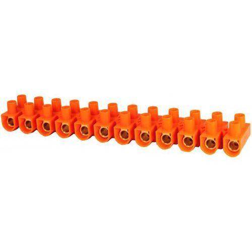 Listwa zaciskowa gwintowa 12-torowa 10mm2 pomarańczowa ltf 12-10.0 21512108 marki Simet