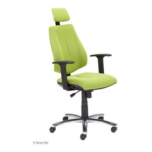 Krzesło obrotowe gem hru r26s steel04 chrome marki Nowy styl