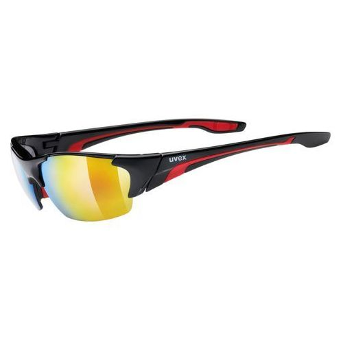 blaze lll okulary rowerowe czerwony/czarny okulary marki Uvex