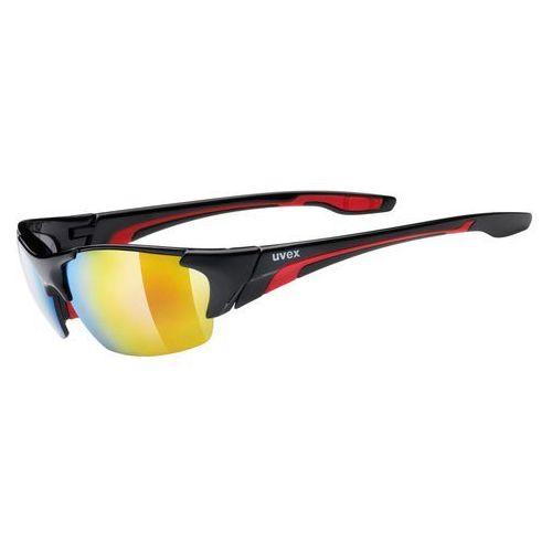 UVEX Blaze lll Okulary rowerowe czerwony/czarny Okulary (4043197237312)