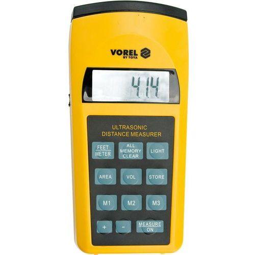 Dalmierz ultradźwiękowy z laserem Vorel 81782 - ZYSKAJ RABAT 30 ZŁ