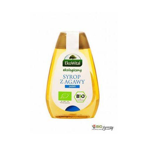 Syrop z agawy jasny BIO 250 ml EkoWital (5908249970380)