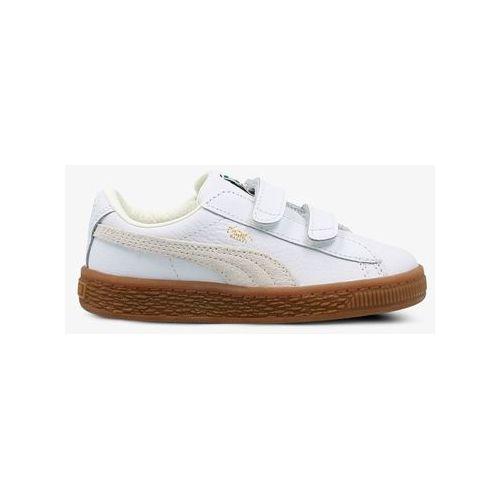 Buty Puma Basket Classic Gum Deluxe V Inf 36508001, kolor biały