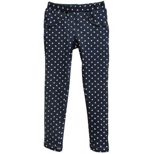 Topo legginsy dziewczęce 140 niebieskie, kolor niebieski