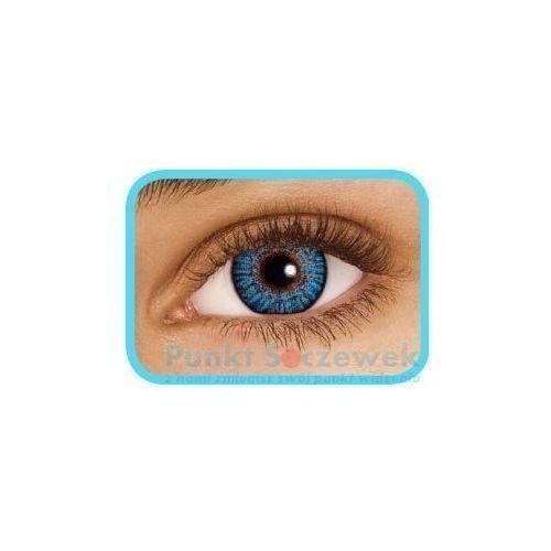 Freshlook colorblends true sapphire, 2 szt. marki Ciba vision