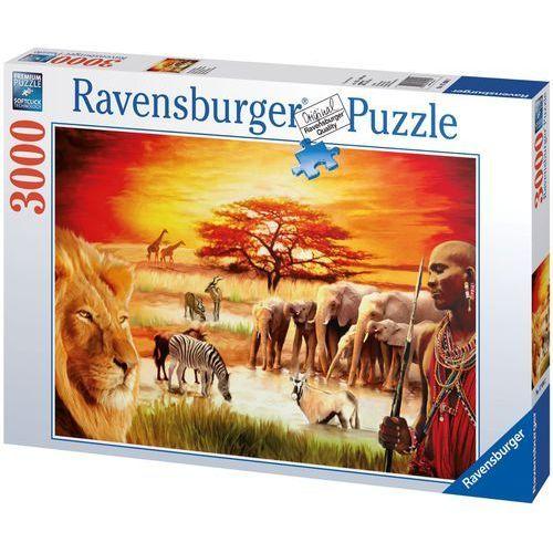 Ravensburger 3000 EL. Masajowie, Sawanna, WZRVBT0UN029105 (5723281)