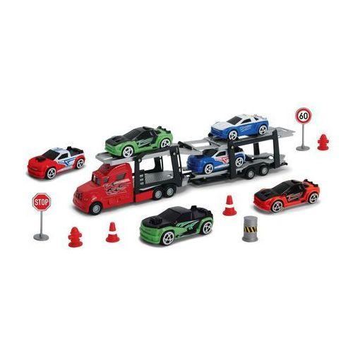 DICKIE Autotransporter + 6 samochodów