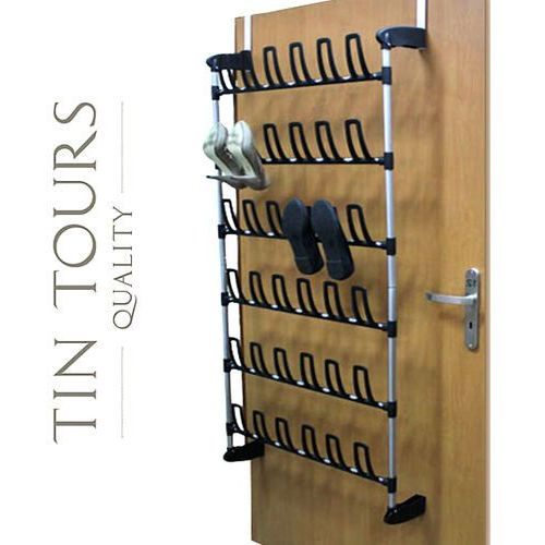 Buciarka / wieszak na buty podwieszany na drzwiach na 18 par but marki Tin tours sp.z o.o.