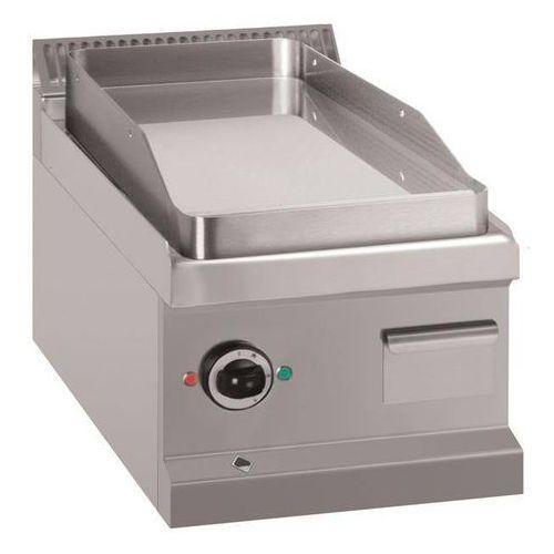 Outlet - płyta grillowa elektryczna 350x500 stołowa | gładka | 400v | 4kw marki Mbm