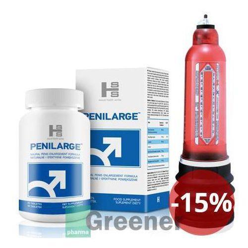 SHS Penilarge + Bathmate Hercules - powiększanie penisa