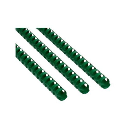 Grzbiet plastikowy 16mm zielony 145k Idest, PX1152
