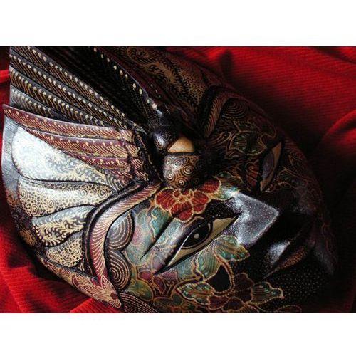 Wyspa bali Dekoracyjny prezent rzeźba egzotyczna maska niepodzielności władzy