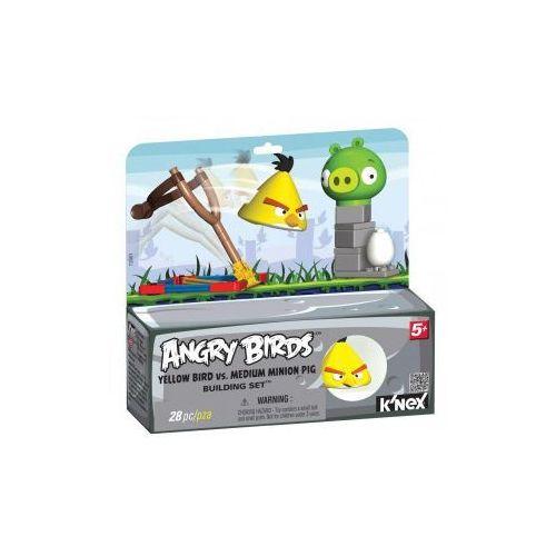 72601 Klocki K'nex Angry Birds, Żółty Ptak i Średnia Świnia