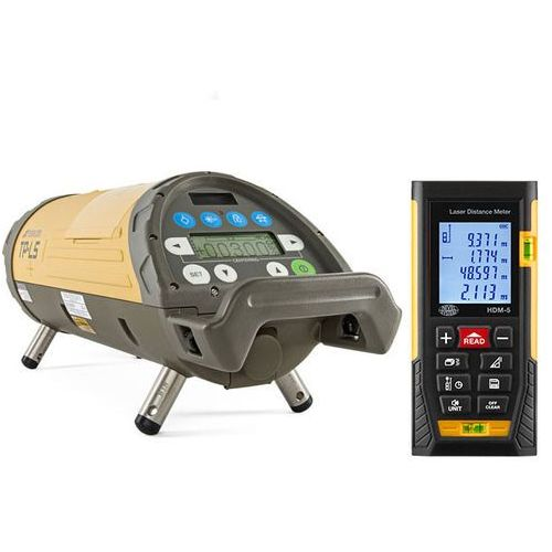 Niwelator rurowy Topcon TP-L5G + dalmierz laserowy HDM-5