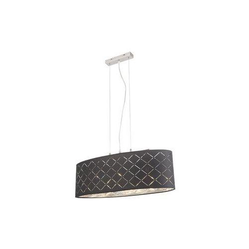 Globo kidal lampa wisząca nikiel matowy, 3-punktowe - nowoczesny - obszar wewnętrzny - kidal - czas dostawy: od 3-6 dni roboczych marki Globo lighting