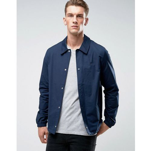 Original Penguin Coach Jacket Stretch in Navy - Navy