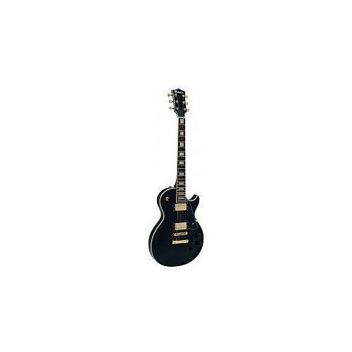 Dimavery LP-520 E-Guitar, black gold, gitara elektryczna (gitara elektryczna)