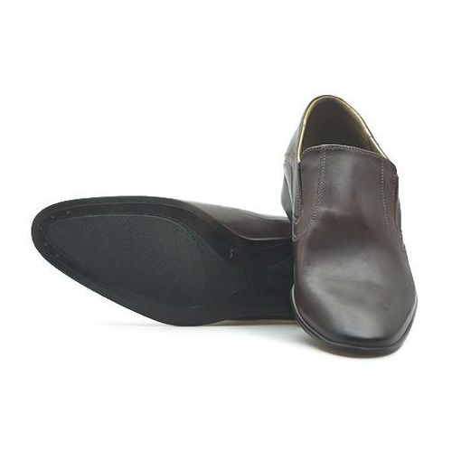 Pantofle 026 brązowe lico marki Duo men