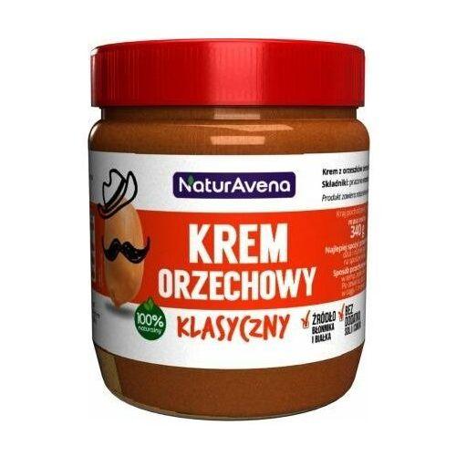 Naturavena Krem orzechowy klasyczny 100% bez soli/cukru 340g -