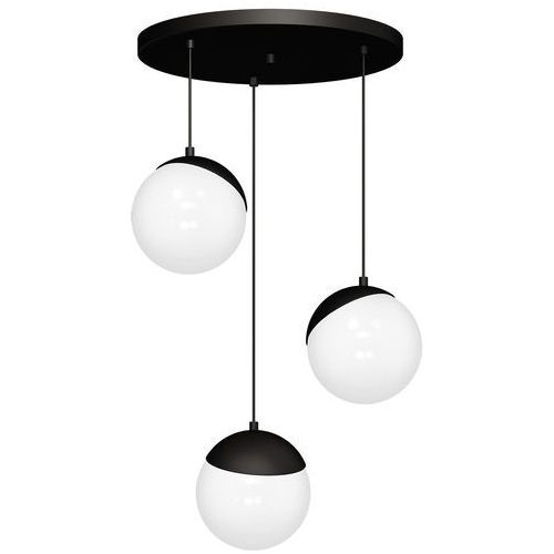 Lampa wisząca Luminex Sphere Cable 8868 lampa sufitowa żyrandol 3x60W E27 czarna, 8868