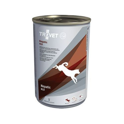 TROVET Highly Digestible Liverprotecting Diet (HLD dla psów) - puszka 6x400g