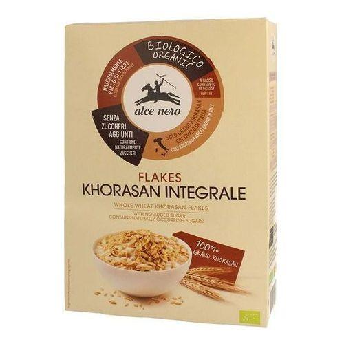 Płatki z khorasan pełnoziarniste bez dodatku cukrów bio 200 g - alce nero marki Alce nero (włoskie produkty)