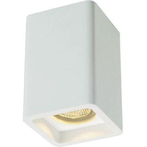 Lampa sufitowa SLV 148004, GU10, (DxSxW) 9 x 9 x 13.5 cm, biały (4024163137249)