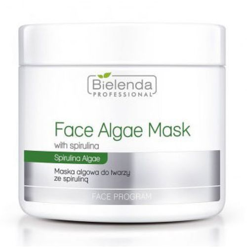 face algae mask with spirulina maska algowa ze spiruliną marki Bielenda professional