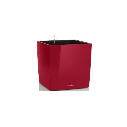 Czerwona Doniczka Z Nawadnianiem Cube 30 Lakierowana