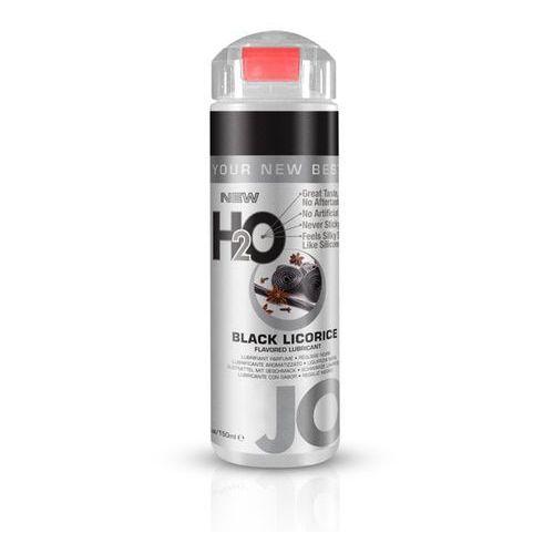 Lubrykant smakowy - system  h2o lubricant black licorice 150ml czarna lukrecja marki Jo