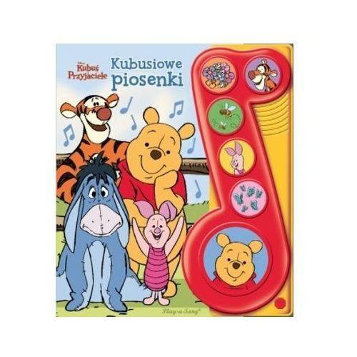 Praca zbiorowa Disney kubuś i przyjaciele. kubusiowe piosenki książeczka dźwiękowa (9788327440921) - OKAZJE