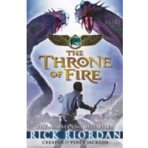 Kane Chronicles: the Throne of Fire, Riordan, Rick