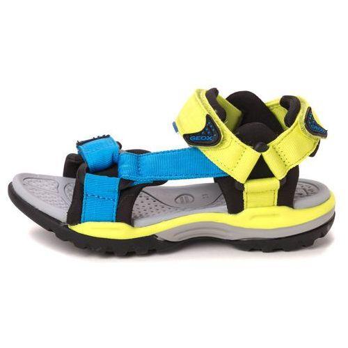 Geox sandały chłopięce Borealis 34 wielokolorowy (8051516582605)