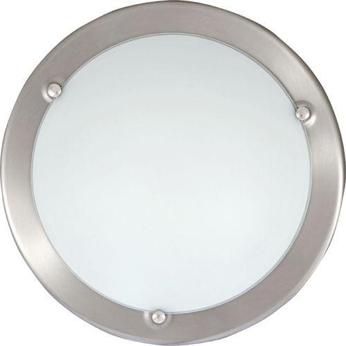 Rabalux Plafon lampa sufitowa / ścienna ufo 1x60w e27 satynowy chrom/biały 5121