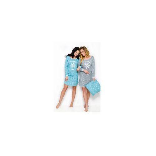 Koszula nocna Taro Nora 2116 niebieska, Nora 2116