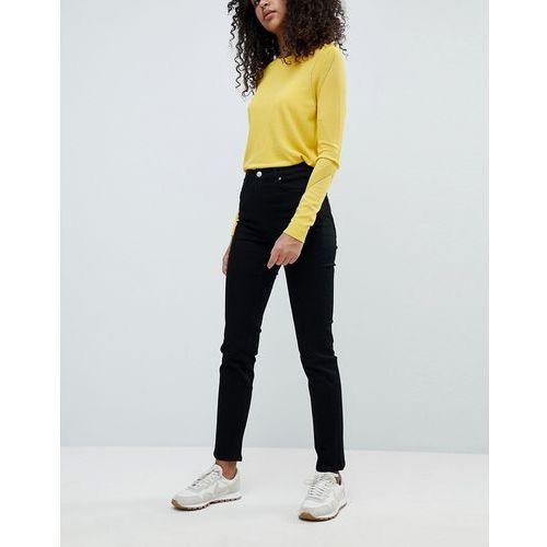 Weekday Way High Waist Slim Leg Jeans - Black