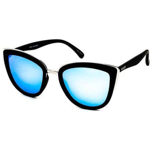 Okulary Słoneczne Quay Australia QW-000065 MY GIRL BLK/BLUE