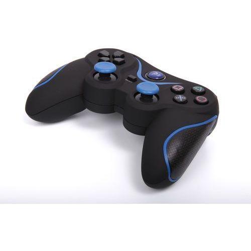 Kontroler 1BANDIT A8 PS3 Czarno-niebieski