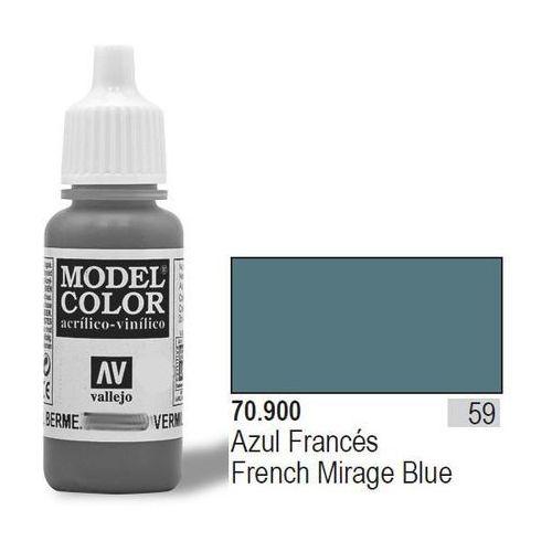 Vallejo  farba nr59 fr. m irage blue 17mlmatt (8429551709002)