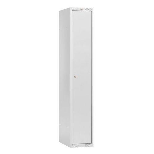 Klasyczna szafka do przebieralni pojedyncza 550x1750x400mm Kolor drzrwi:Sza