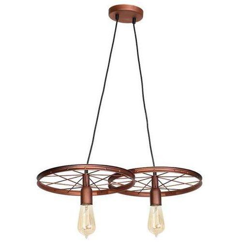 Min lampa wisząca 2-punktowa 834H/K, kolor Miedziany