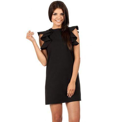 Sukienka Model MOE099 Black, kolor czarny