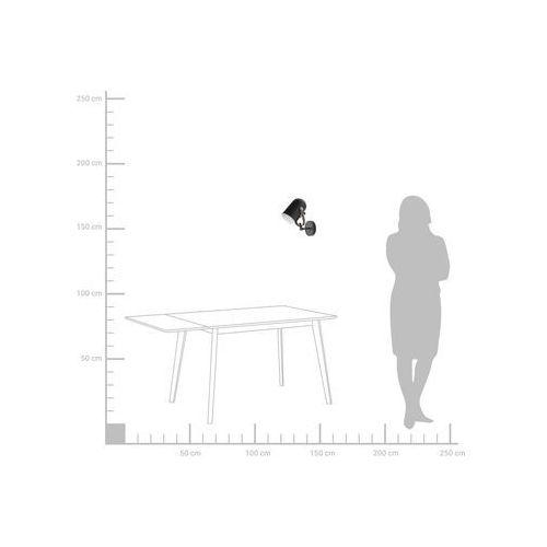 Lampa ścienna czarna TYRIA (4260602373599)