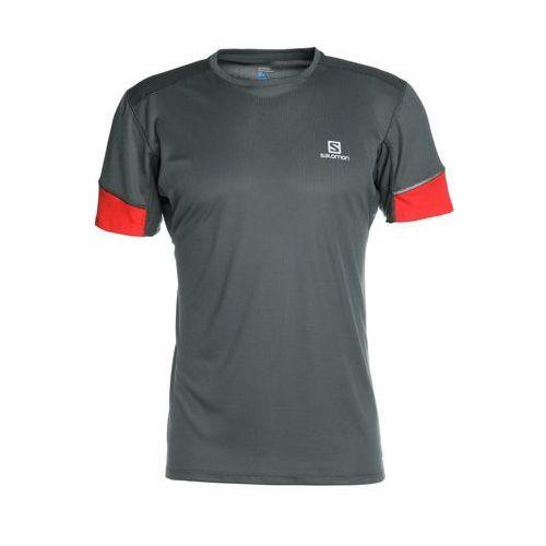 Salomon AGILE TEE Tshirt z nadrukiem urban chic (0889645550367)