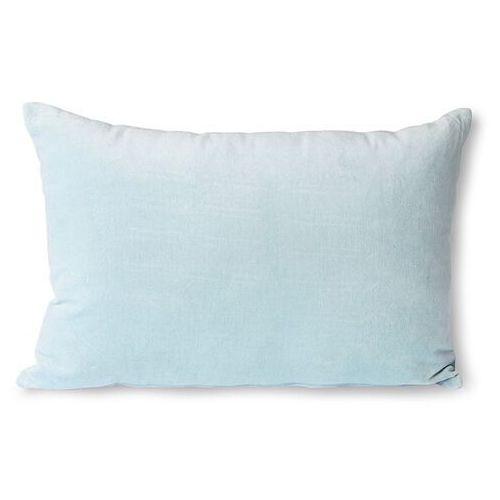 Hkliving poduszka velvet błękitna (40x60) tku2110 (8718921036436)