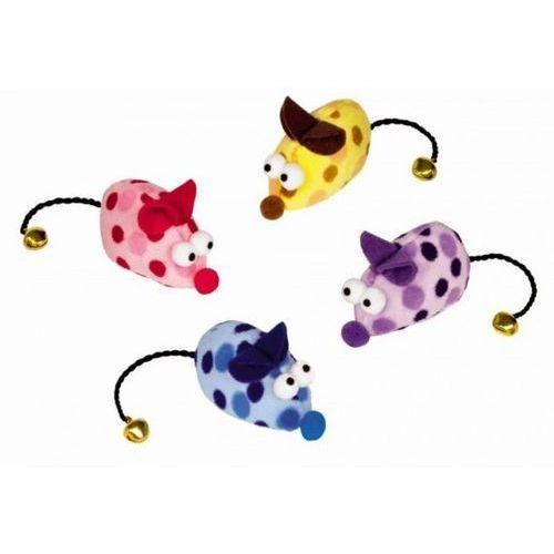 Nobby Pluszowe myszki z kocimiętką i dzwoneczkiem nr kat.71936 - produkt z kategorii- Zabawki dla kotów