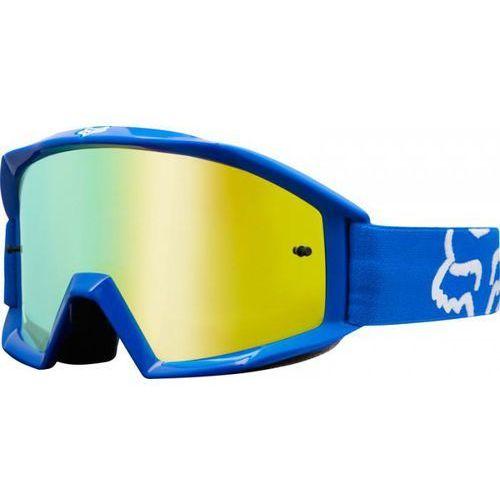 Gogle fox main race blue - szyba gold spark (1 szyba w zestawie) marki Fox_sale