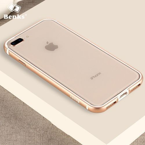 Benks Etui aegis bumper iphone 8 plus/7 plus gold (6948005942625)